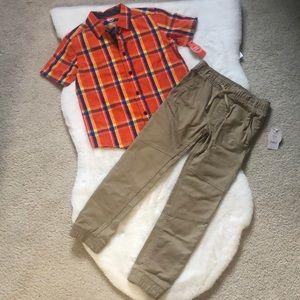 Size 6/7 boys set